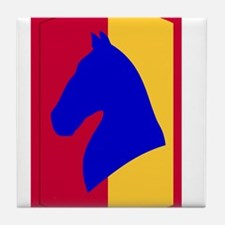 138th Field Artillery.png Tile Coaster