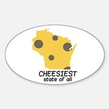 Cheesiest State Decal