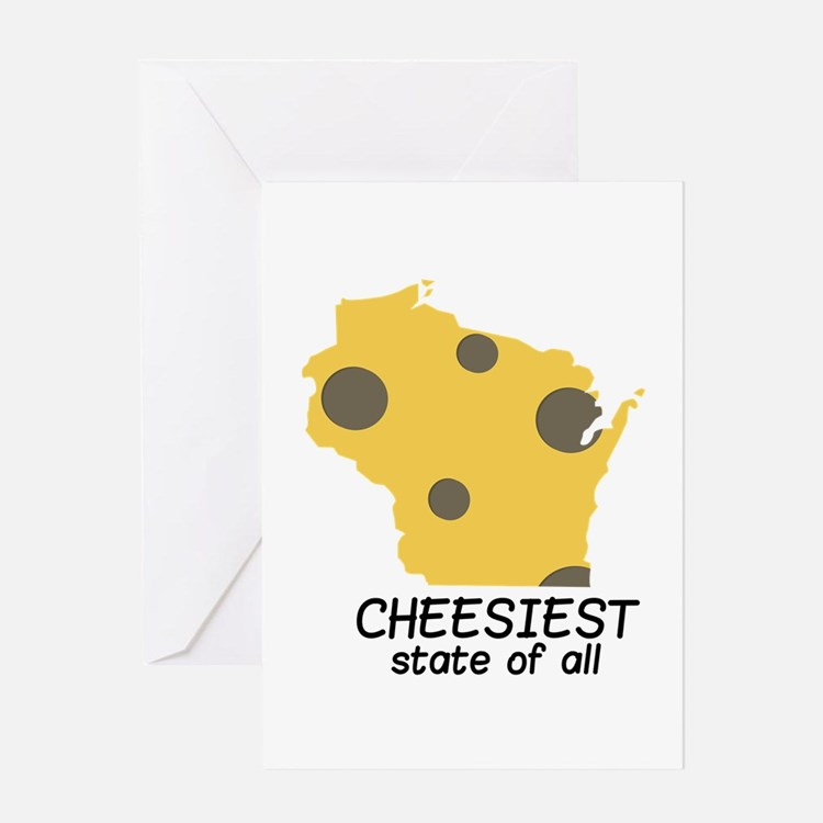 Cheesiest State Greeting Cards