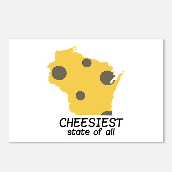 Cheesiest State Postcards (Package of 8)