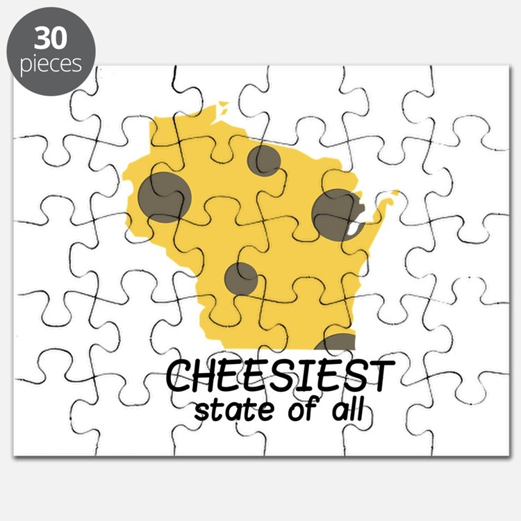 Cheesiest State Puzzle