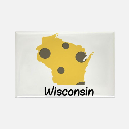State Wisconsin Magnets