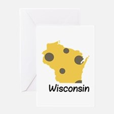 State Wisconsin Greeting Cards