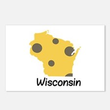 State Wisconsin Postcards (Package of 8)