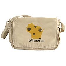 State Wisconsin Messenger Bag
