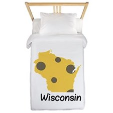 State Wisconsin Twin Duvet