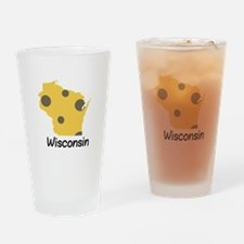State Wisconsin Drinking Glass