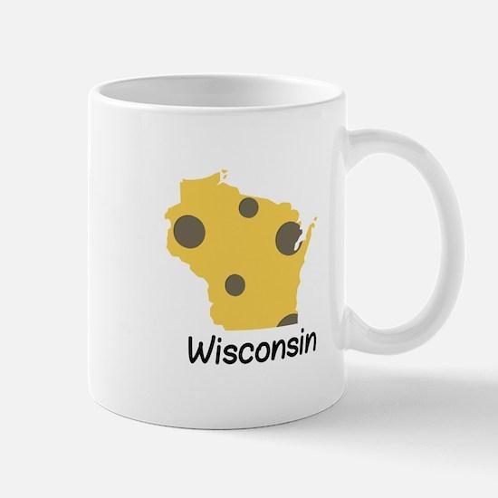 State Wisconsin Mugs