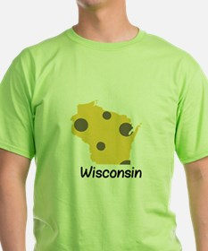State Wisconsin T-Shirt