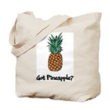 Pineapple Canvas Totes