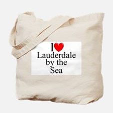 """I Love Lauderdale by the Sea"" Tote Bag"