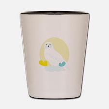 Owl Bird Shot Glass