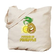 Powered By Pineapple Tote Bag