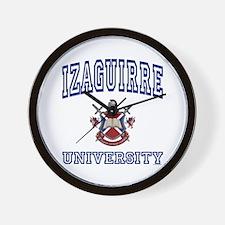 IZAGUIRRE University Wall Clock