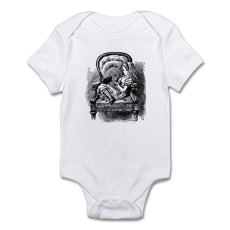 Alice and Kitten Infant Bodysuit