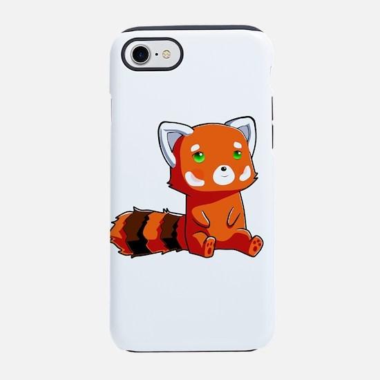 Raccoon Kawaii iPhone 7 Tough Case