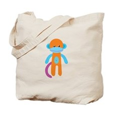 Monkey Toy Tote Bag