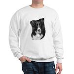 Malcolm, Border Collie Sweatshirt
