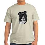 Malcolm, Border Collie Light T-Shirt