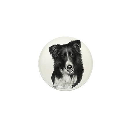 Malcolm, Border Collie Mini Button