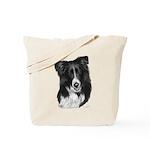 Malcolm, Border Collie Tote Bag