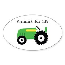 Farming For Life Decal