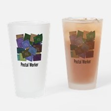 Postal Worker Drinking Glass