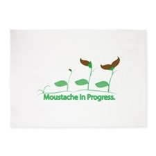 Moustache Growing 5'x7'Area Rug