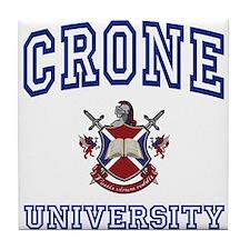 CRONE University Tile Coaster