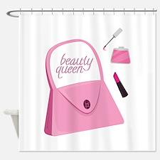 Beauty Queen Shower Curtain