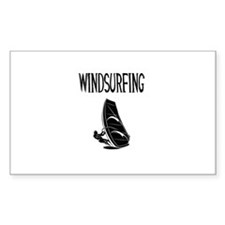 winsurfing design version 7 beach image Decal