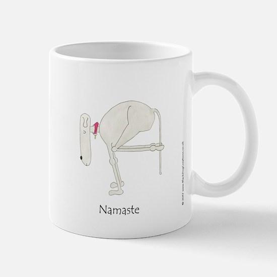 Namaste. Funny, Dog Yoga / Doga Mug