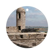 Castel San Marco Fort, St Augusti Ornament (Round)