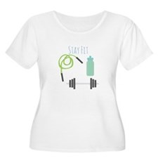 Stay Fit Plus Size T-Shirt
