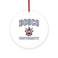 BOSCO University Ornament (Round)