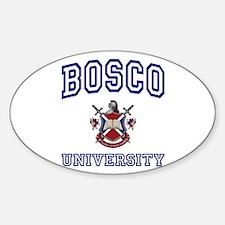 BOSCO University Oval Decal
