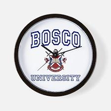 BOSCO University Wall Clock