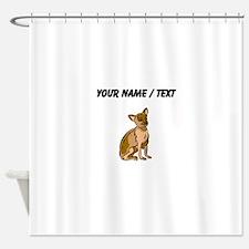 Chihuahua (Custom) Shower Curtain