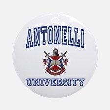 ANTONELLI University Ornament (Round)