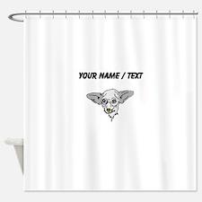 Chihuahua Face (Custom) Shower Curtain