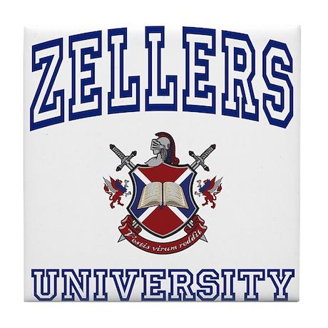ZELLERS University Tile Coaster