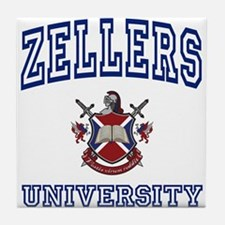 ZELLERS University Tile Coaster