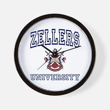 ZELLERS University Wall Clock