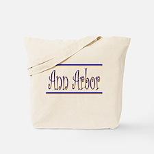 """Ann Arbor""  Tote Bag"