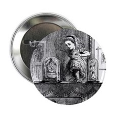 """Through The Looking Glass 2.25"""" Button (10 pack)"""