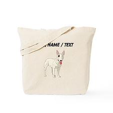 Bull Terrier (Custom) Tote Bag