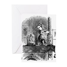 Through The Looking Glass Greeting Cards (Package