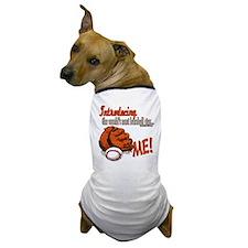 Future Baseball Star Dog T-Shirt