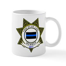 thin blue line member mug 2011