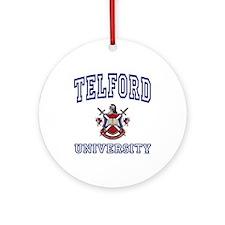 TELFORD University Ornament (Round)